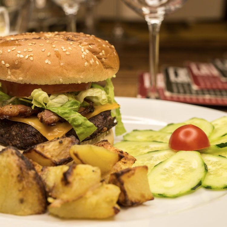 Cheeseburger 200 gr